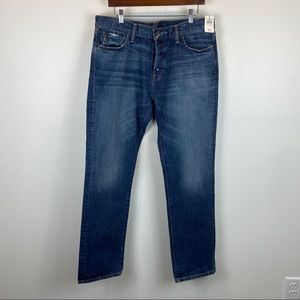 Abercrombie & Fitch Slim Straight Med Wash 34x32